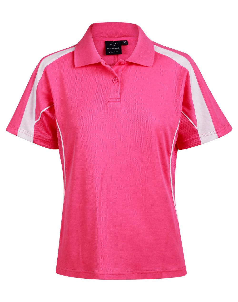 Hot Pink.White