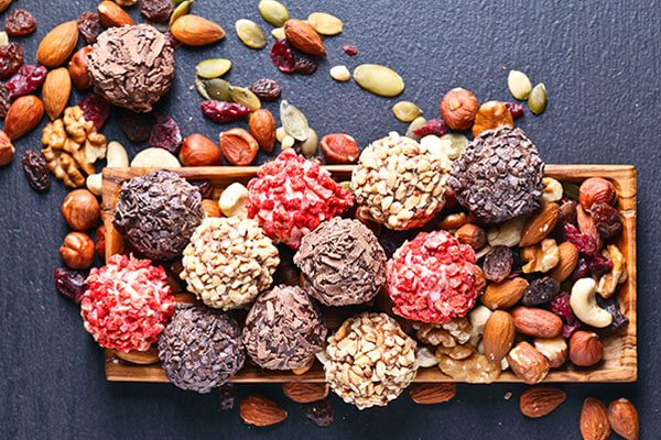 dry fruit bomb snack for college girls