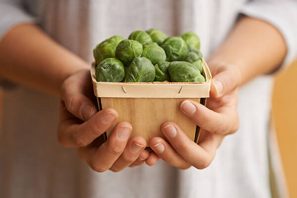 eat more brussels sprouts to add vitamin c to your diet