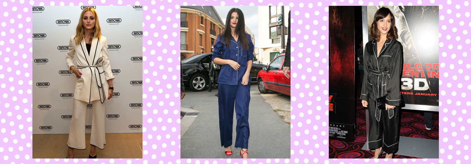 THESE 8 CELEBS SHOW YOU HOW PYJAMA DRESSING IS A TOTALLY LEGIT TREND
