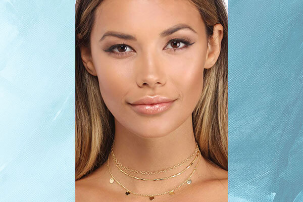 metallic choker for your neckline and outfit