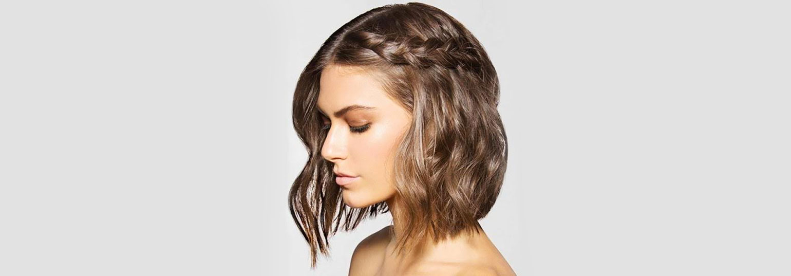 party hairstyles for short hair | bebeautiful