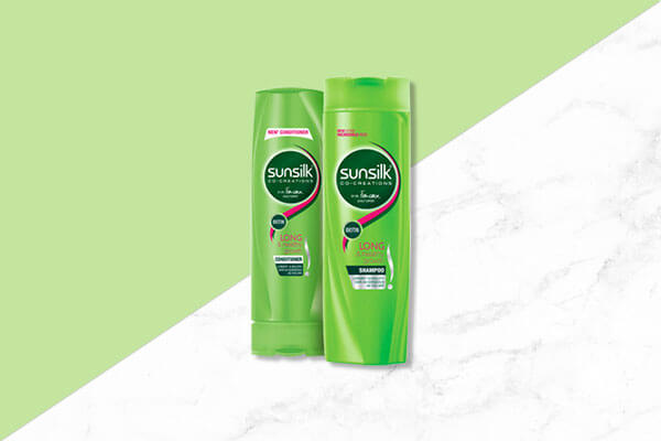 sunsilk long and healthy growth shampoo and conditioner