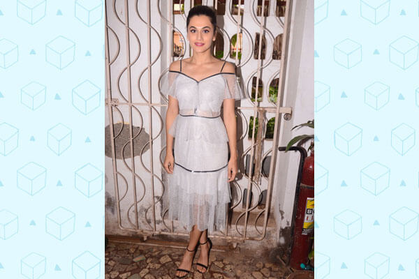 tapsee pannu bollywood fashion look