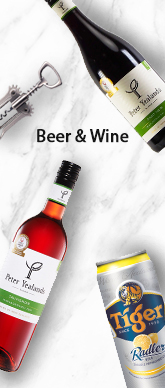 Beer And Wine Side Banner