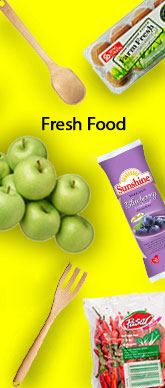 Fresh Food Side Banner
