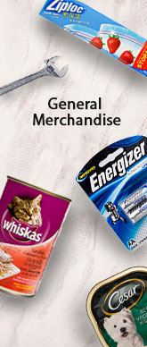 General Merchandise Side Banner