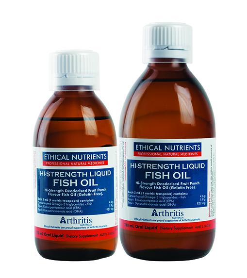 Hi Strength Fish Oil Liquid 2 Sizes