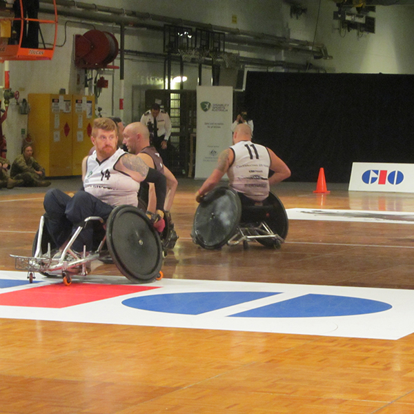 Wheelchair rugby FINAL