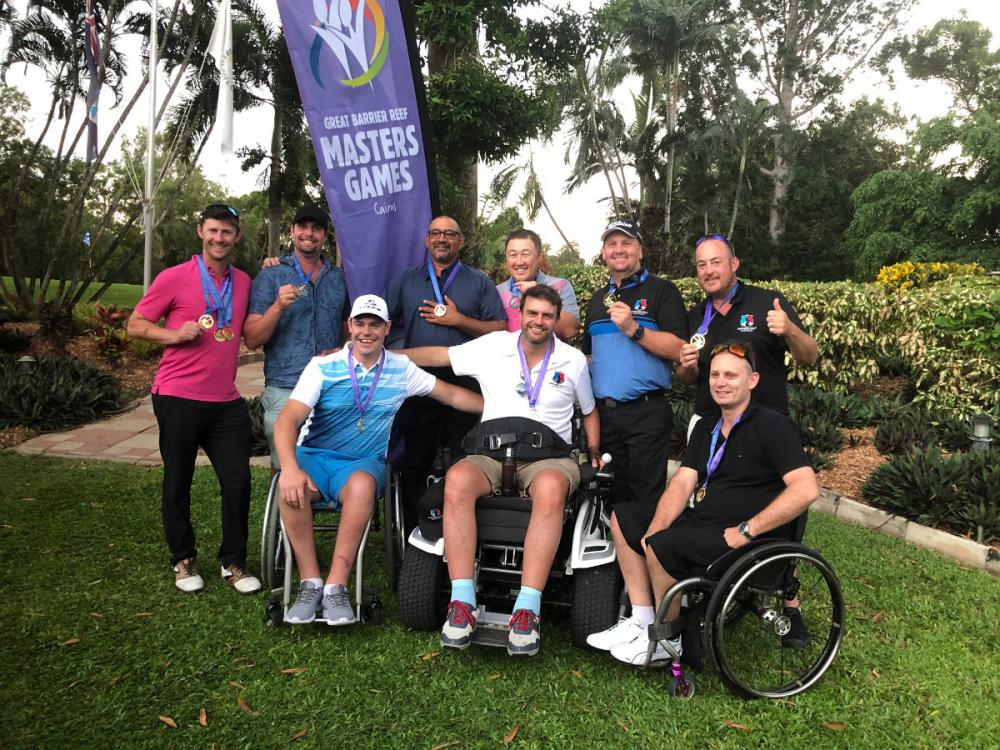 Empower golf group shot