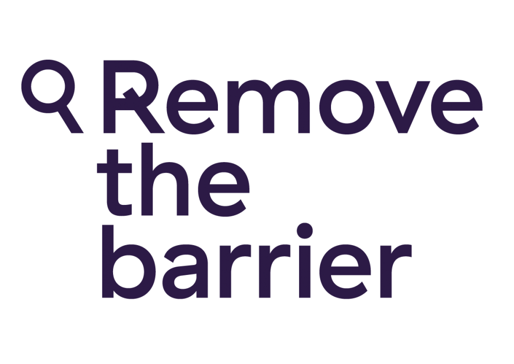 Remove The Barrier logo