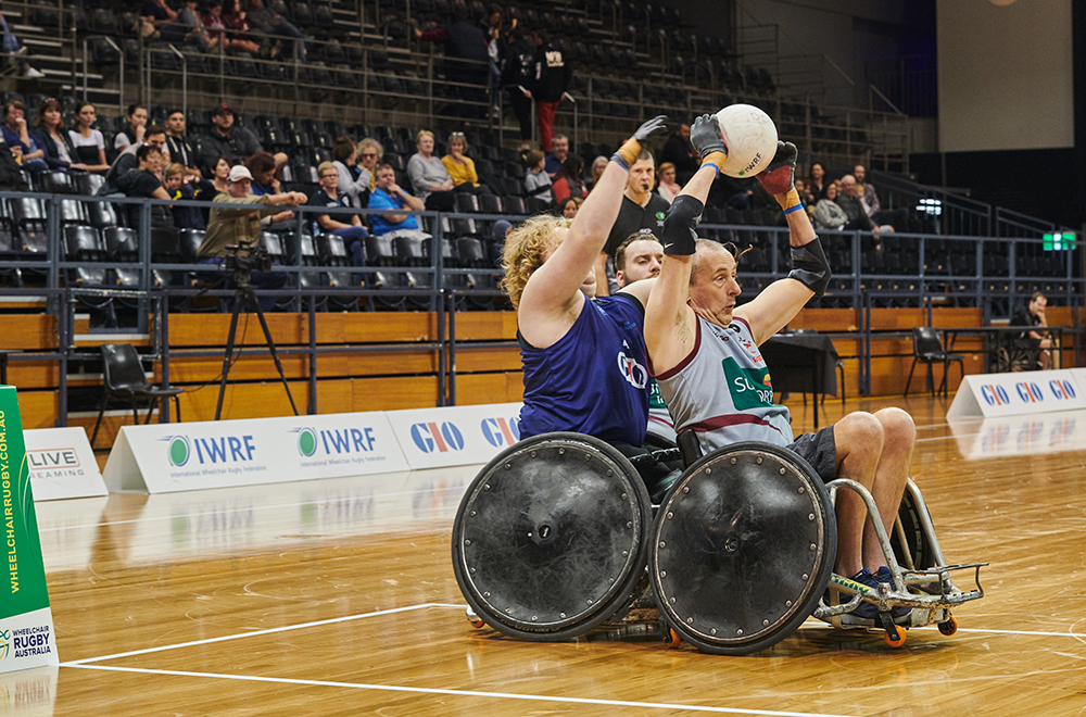 Wheelchair-Rugby FINAL