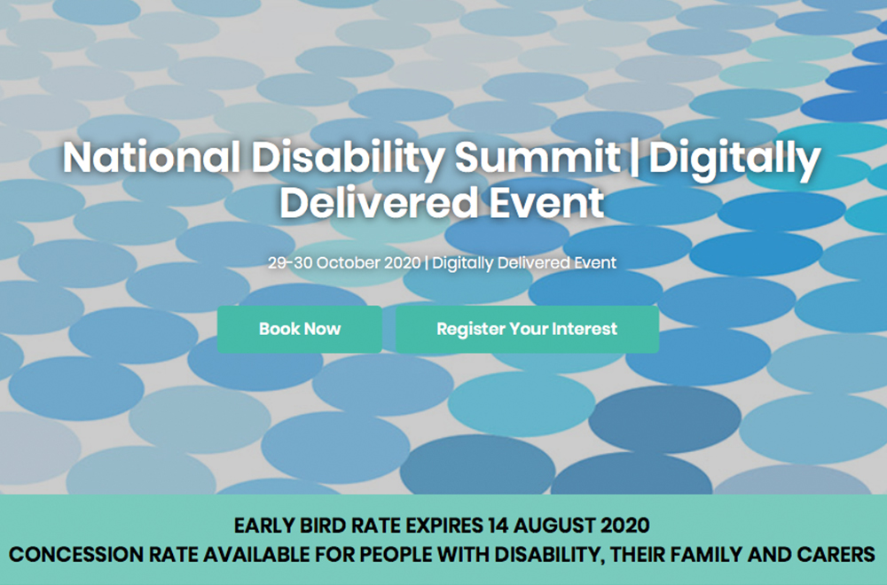 Events National Disability Summit