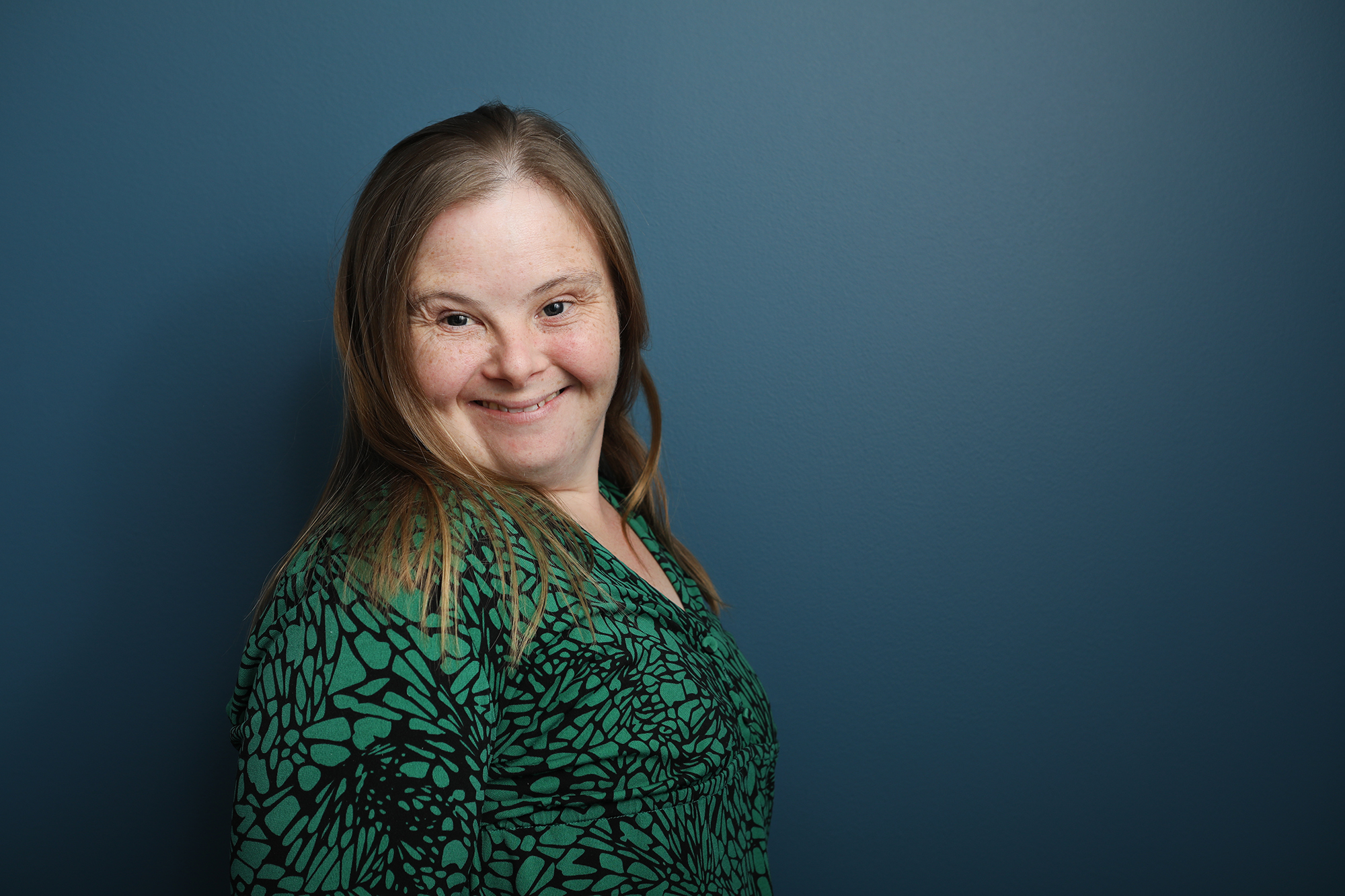 Tara Elliffe at the Down Syndrome Australia Leadership Training Session in Parramatta.