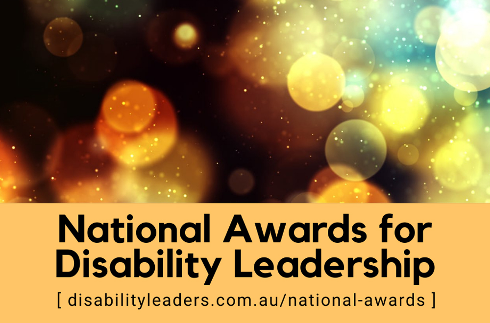 National Awards for Disability Leadership