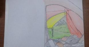 Ilustrasi Inside the Dome by Andahuddin