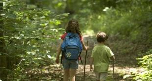 pendakian dengan anak