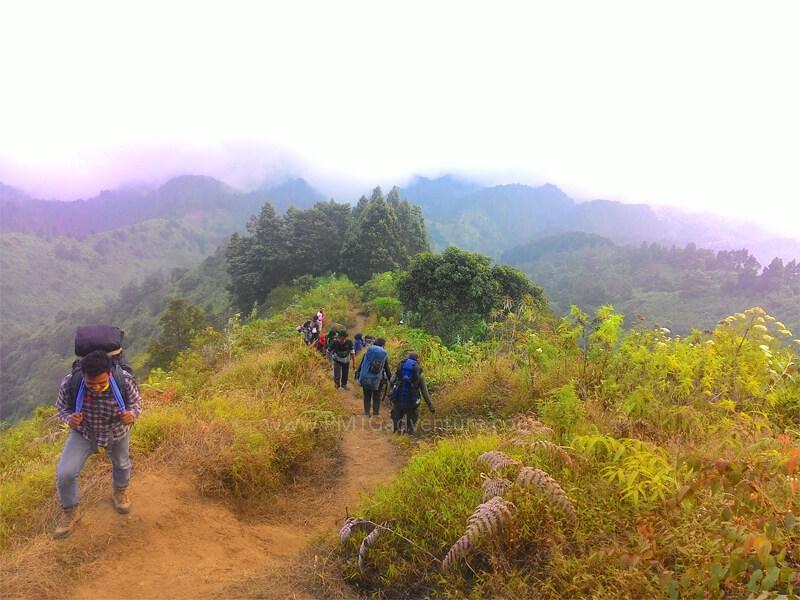 Jalur Pendakian Merbabu via Suwanting