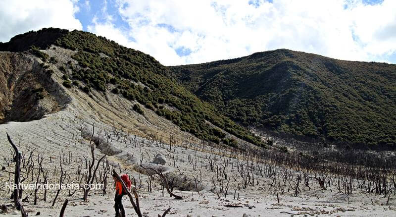 pemandangan gunung papandayan. Sumber: NativeIndonesia