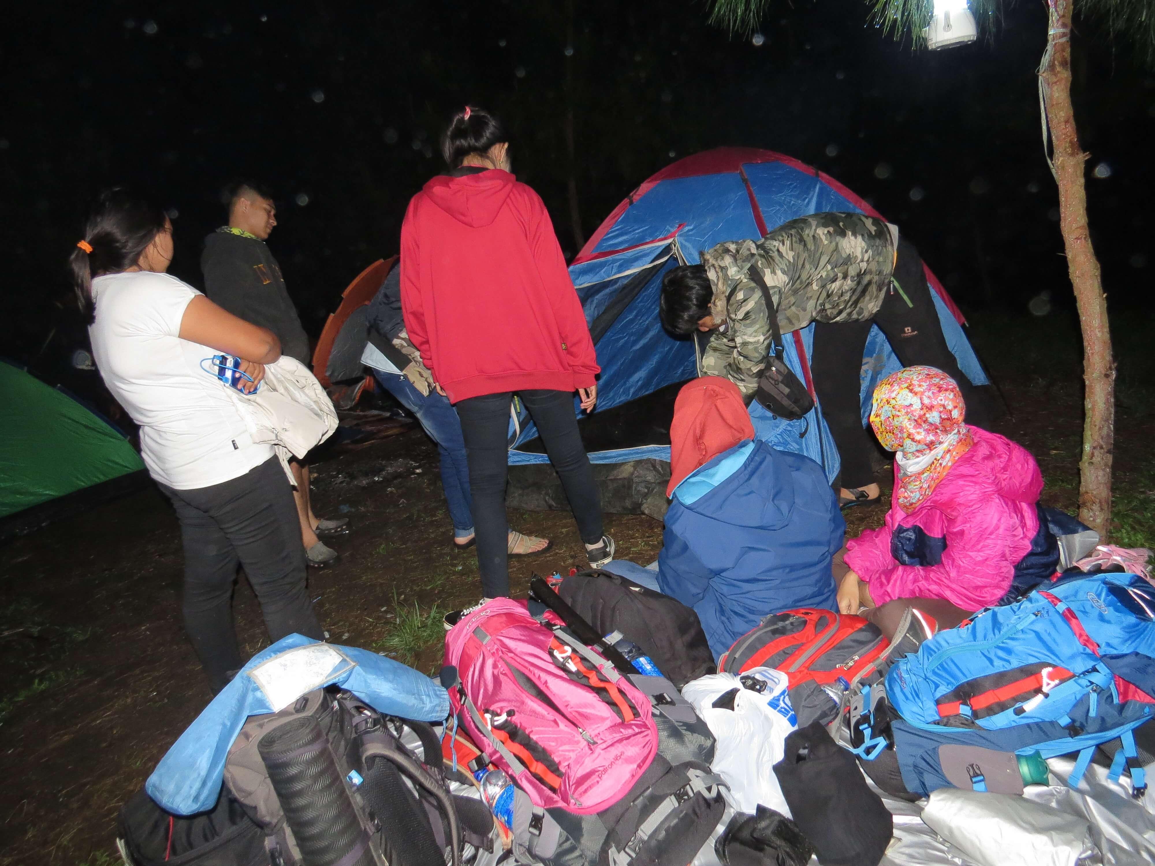Suasana Area Camp Buper Ipukan (Foto oleh : Meru Outdoor Cirebon)