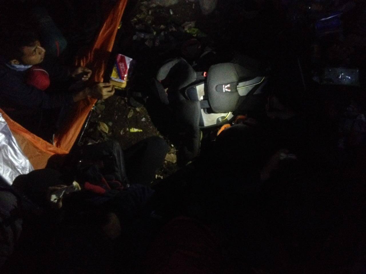 Suasana Camp Pos 4 Ciremai via Apuy / Tegal Jamuju (Foto oleh : @afvendiant)