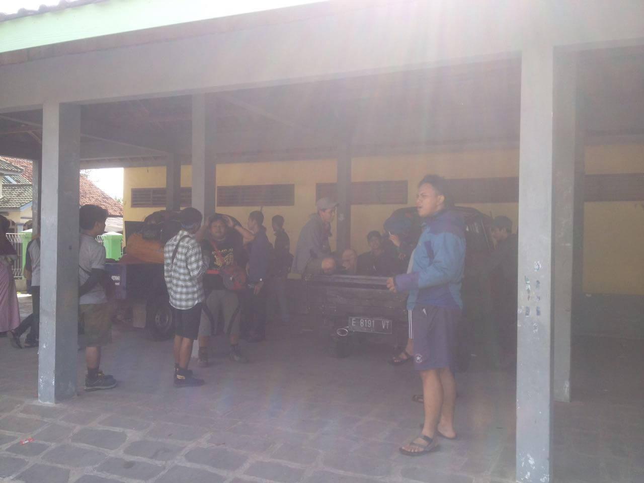 Pengkondisian peserta untuk pemberangkatan (Foto oleh : @afvendiant)