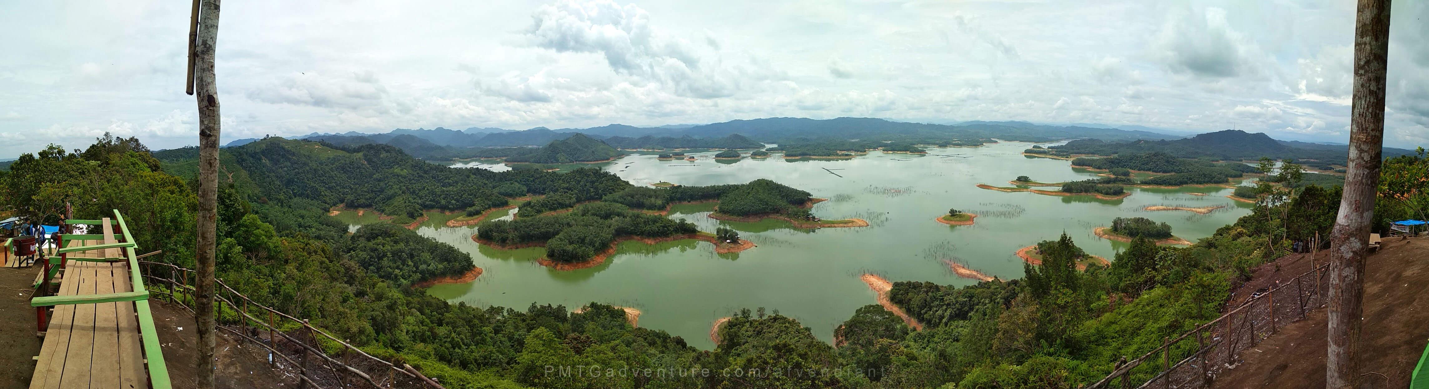 Panorama Wisata Alam Ulu Kasok yang mirip Raja Ampat (Foto oleh : @afvendiant)