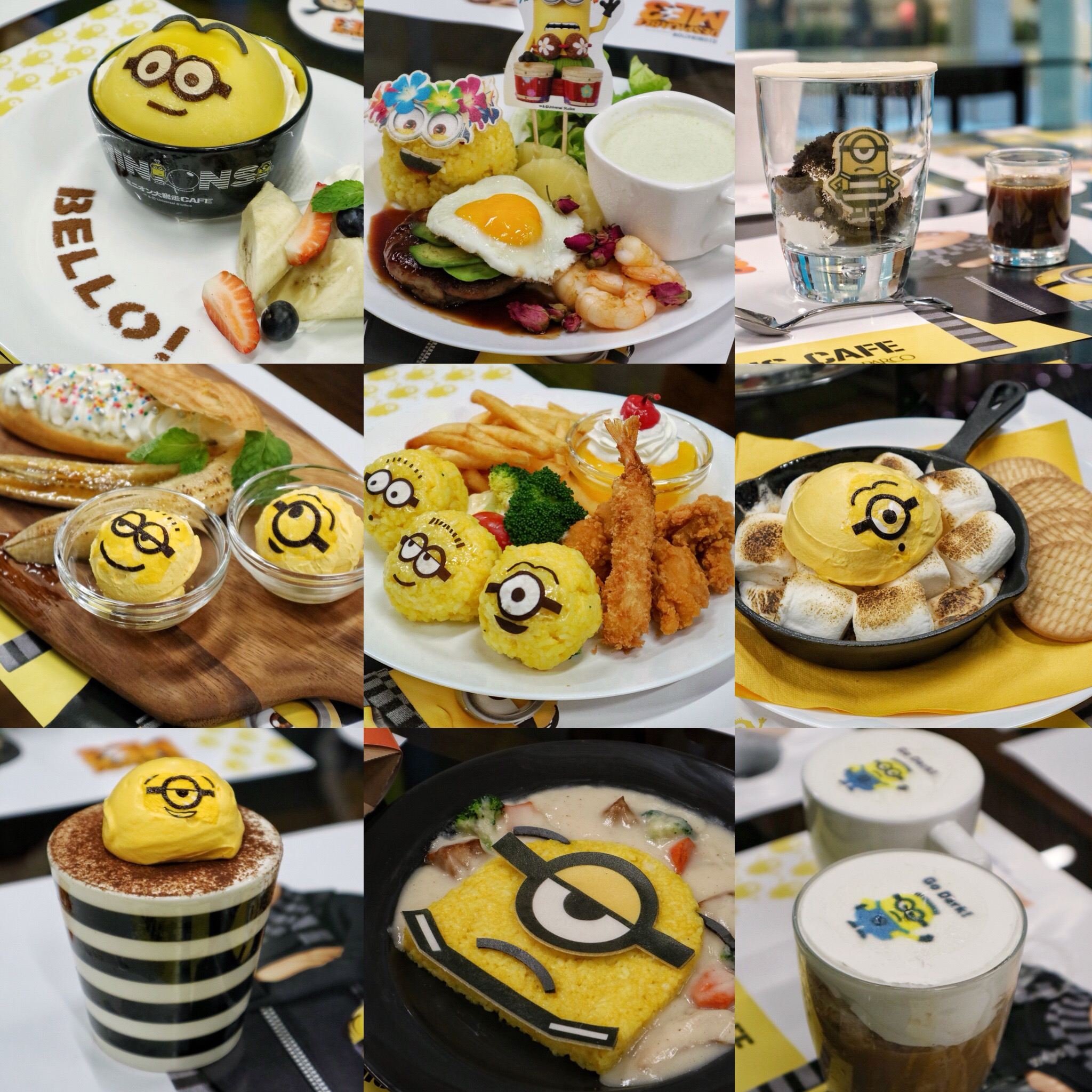 (New) Minions Café: Say Bello to Singapore's First-Ever Minions Café at Orchard Central