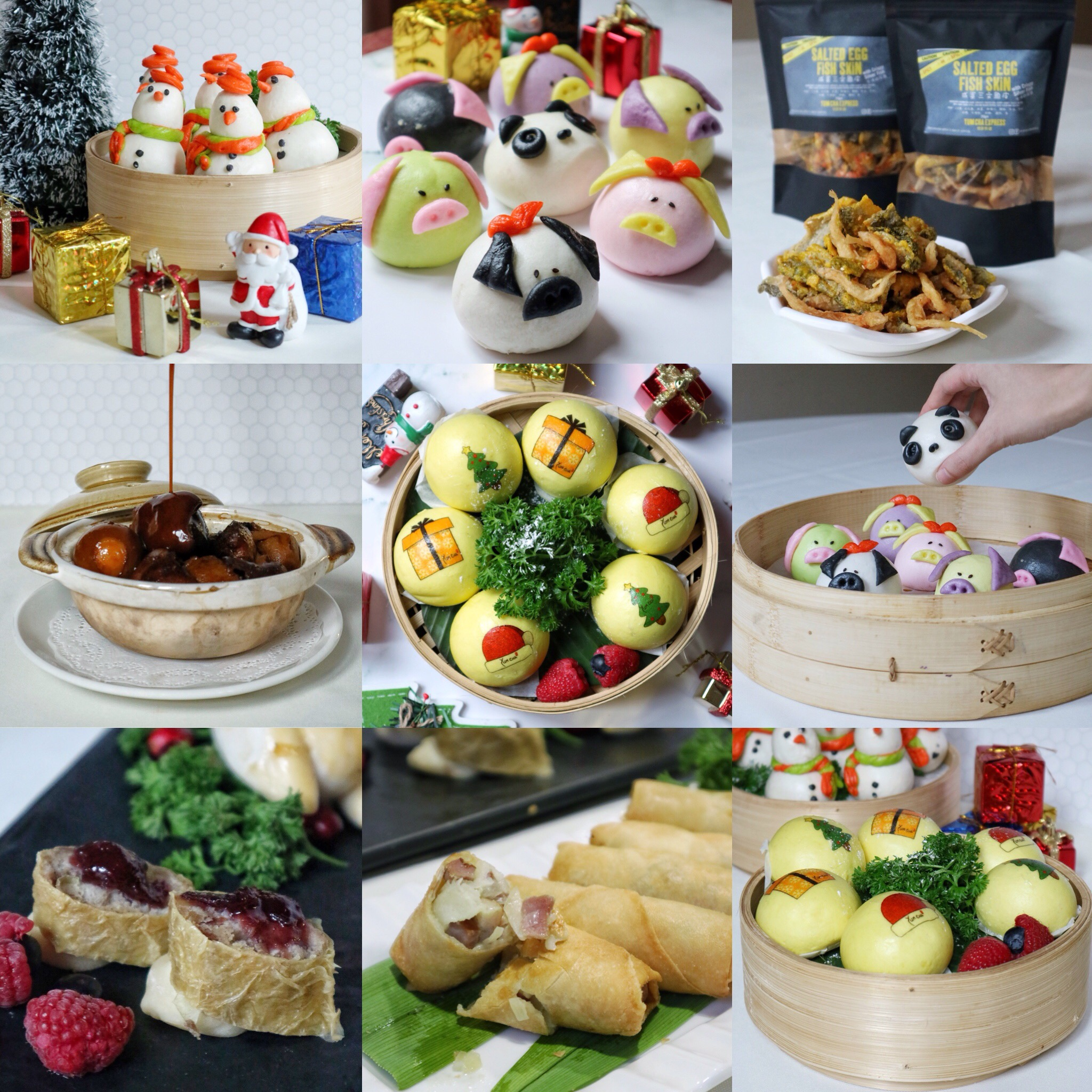 Yum Cha Singapore: Adorable Christmas Dim Sum to Accompany You this Christmas