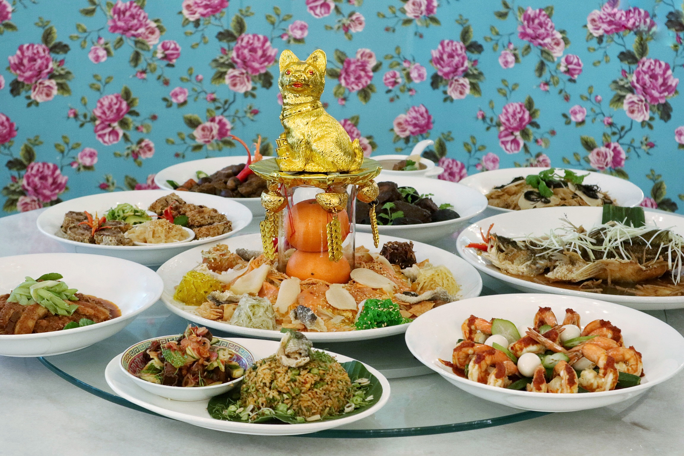 The Peranakan Restaurant Singapore: Welcome Puppy Year with Sumptuous Peranakan Feast