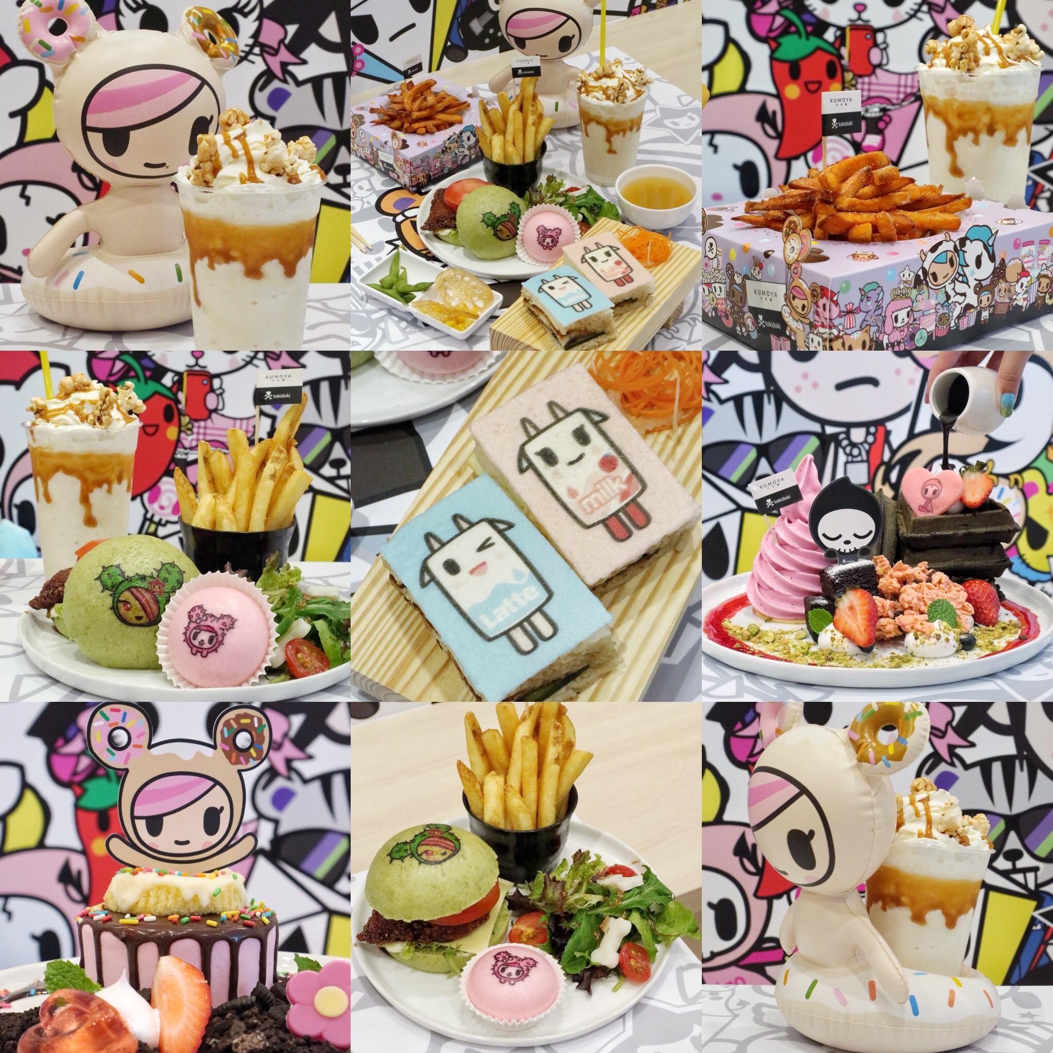 (NEW) Kumoya Singapore: Welcomes World's First Tokidoki Pop-Up Café (from now till end June)