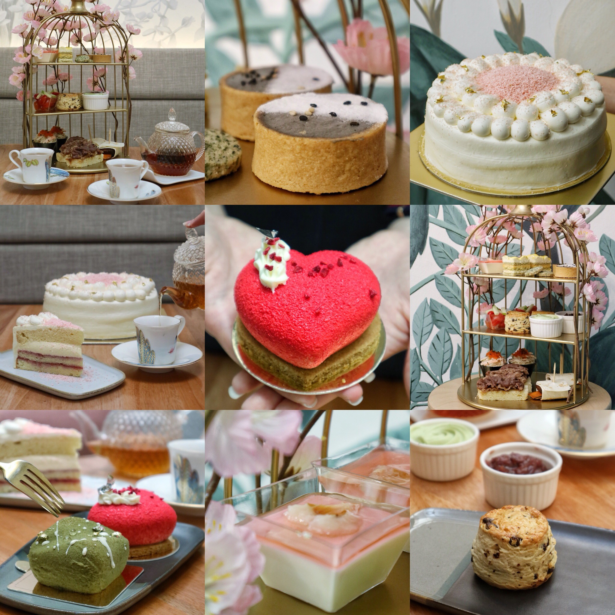 Nesuto: Returns with New Sakura Blossoms High Tea Set & New Entremets this Mother's Day
