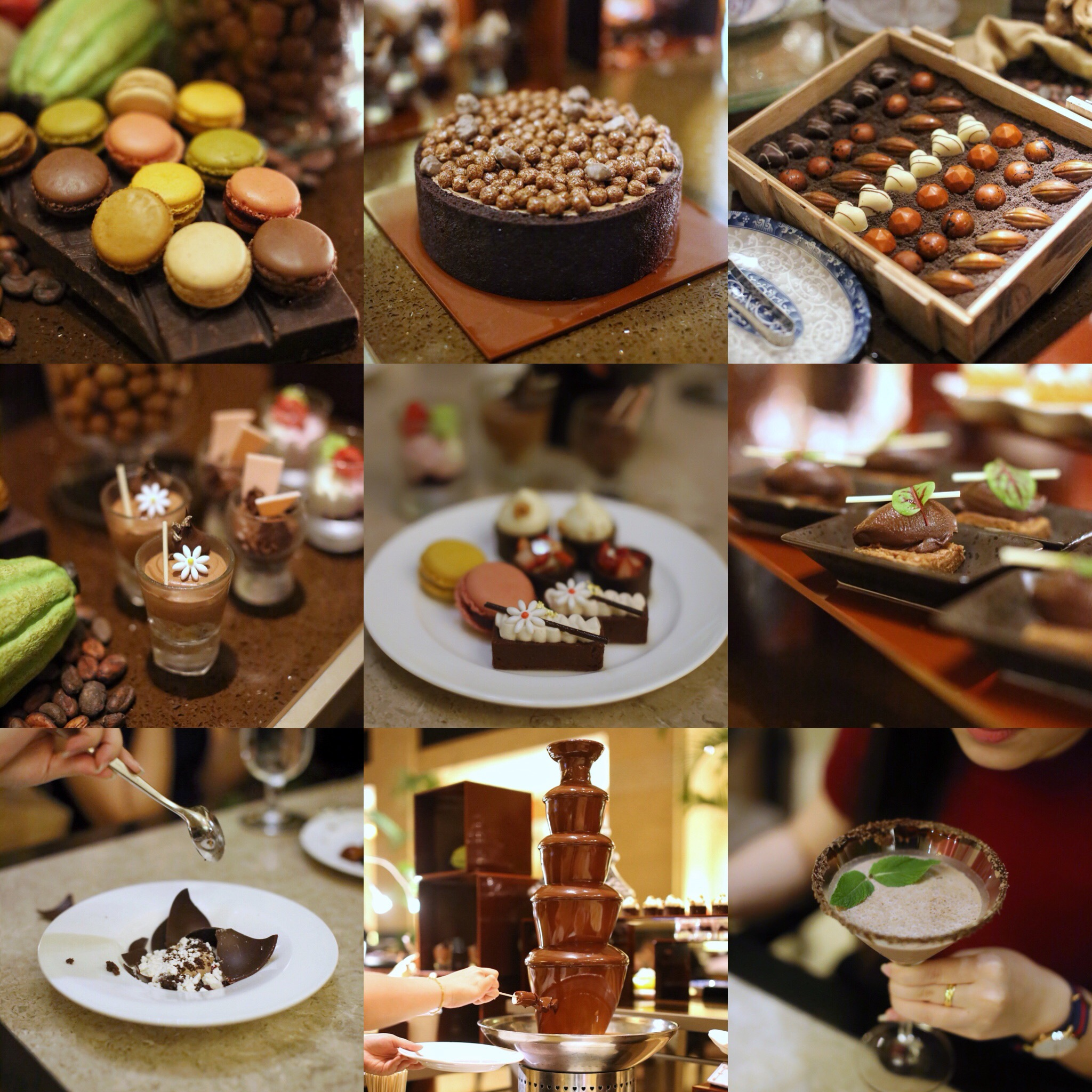 The Courtyard @ Fullerton Hotel: Highly Anticipated Chocolate Buffet is Finally Back & Even Better