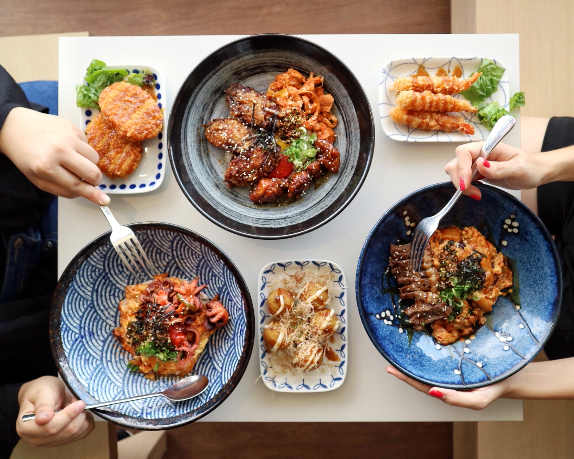 (Ramadhan Special) OMOOMODON: Unique & Mouth-Watering Japanese-Korean Fusion Dons