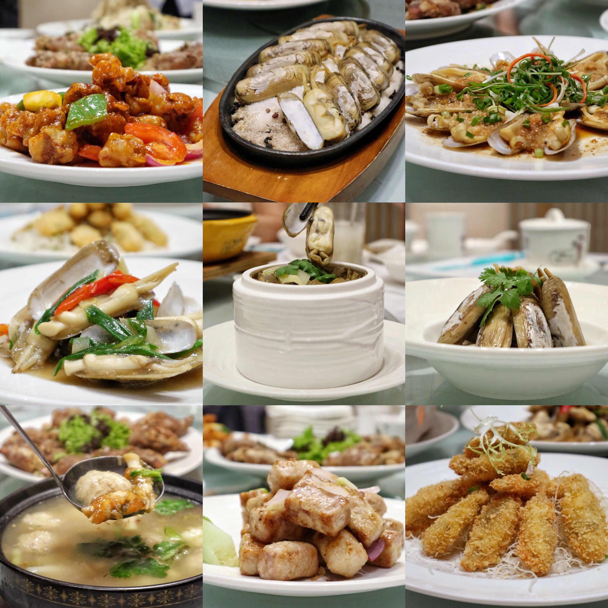Putien: Unveils 8 New Clam-licious Dishes In Conjunction with Duo Tou Clam Season