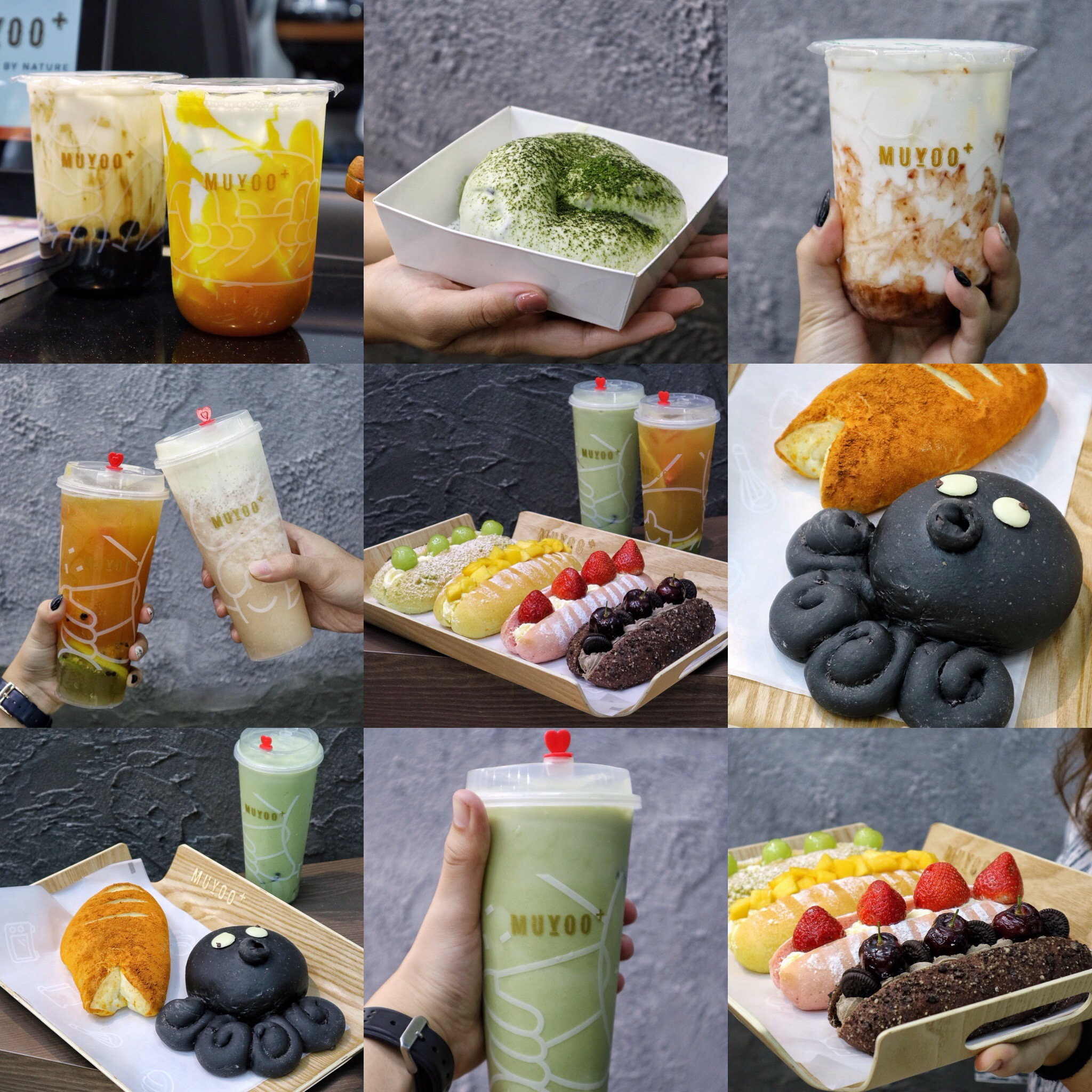(NEW) MUYOO+: Singapore's First-Ever Fresh Bread & Fruit Tea Concept Opens New Outlet at Bedok Mall