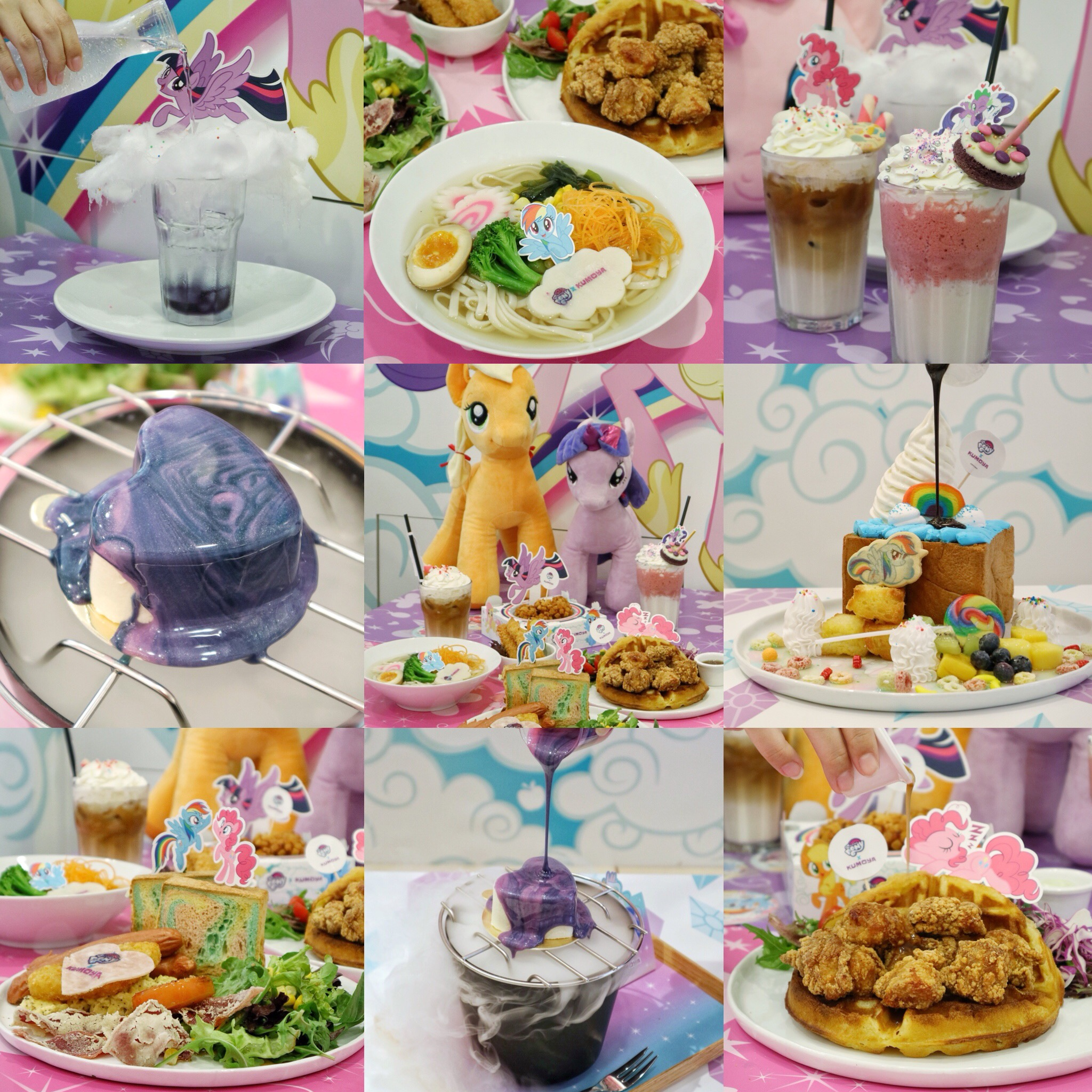 (NEW) Kumoya x My Little Pony Pop Up Cafe: Bringing Rainbow and Smiles this September!