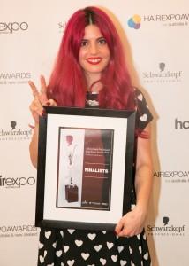 Maria Unali, s.81 (Emerging Hairdresser of the Year Finalist)