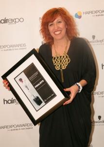 Caterina DiBiase (Australian Hairdresser of the Year Finalist)