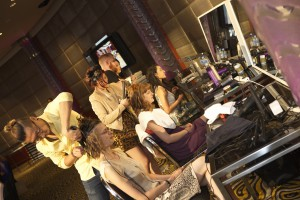 BIBA Bridal High Tea beauty bar of stylists
