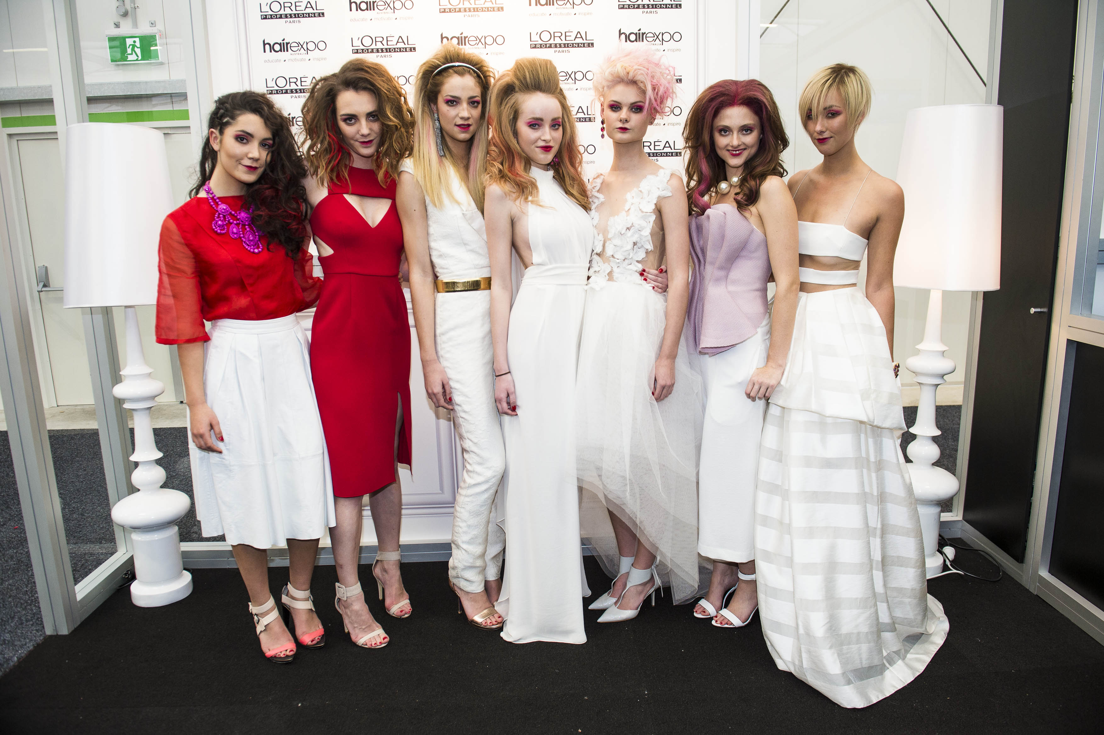 L'Oreal Professionnel Hair Expo 2014_IT Looks preview with Caterina Di Biase (1)