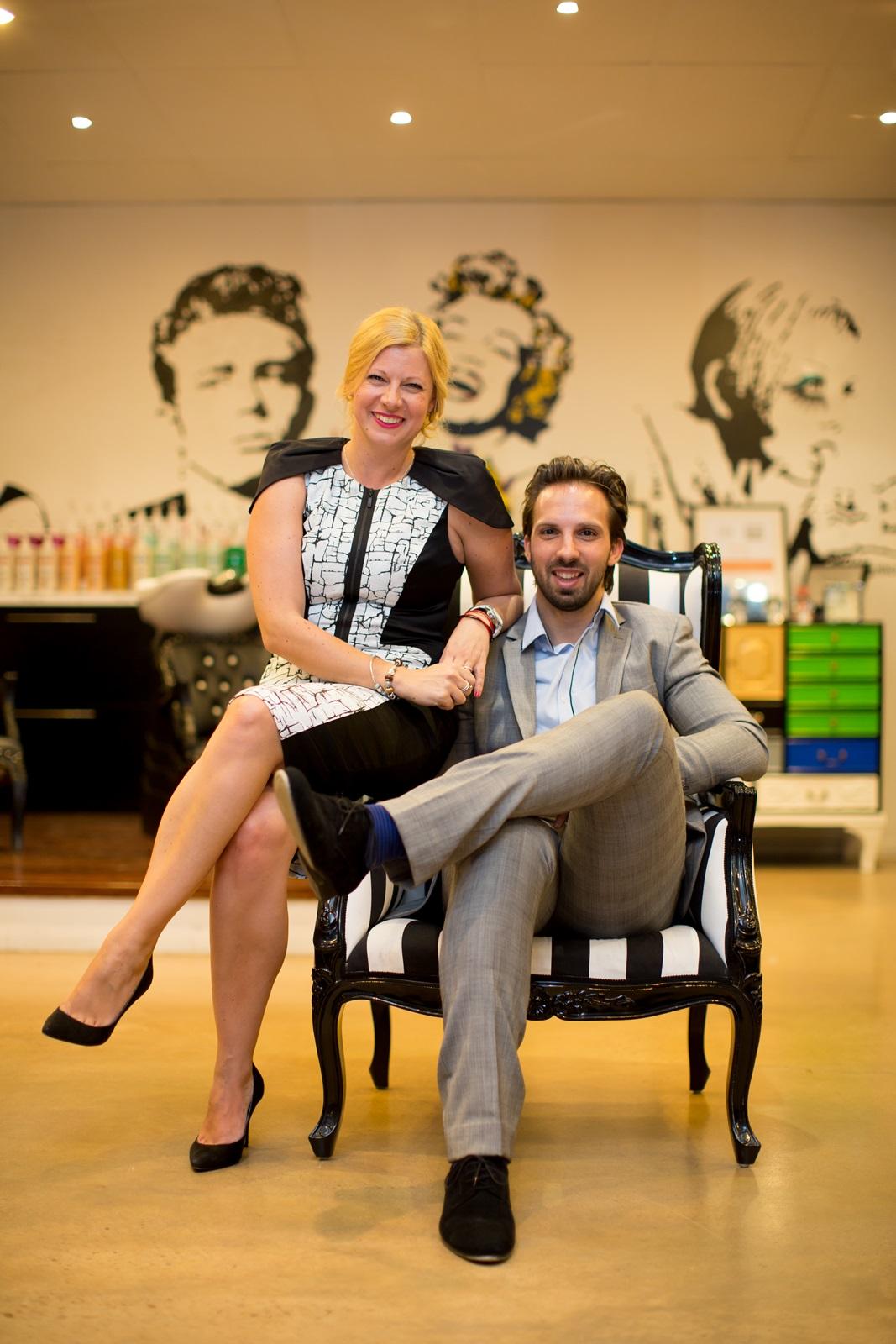 Uros & Mojca chair