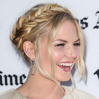 jennifer-morrison-crown-fishtail-braid-hairstyle-w724
