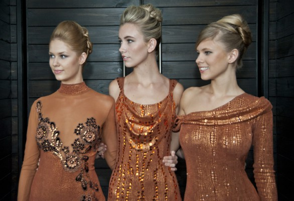 Models from the Intercoiffure Dinner