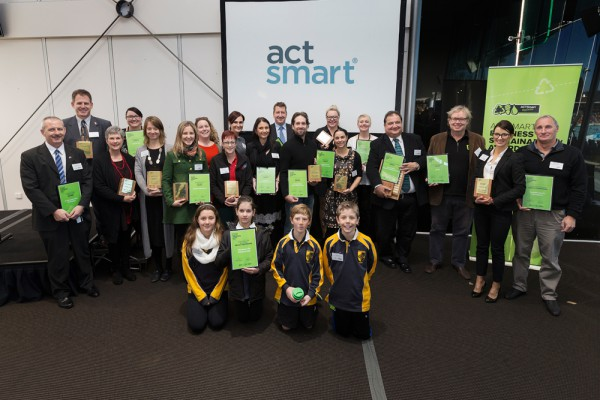 2015 Actsmart Business Sustainability Awards - Small Business Winners