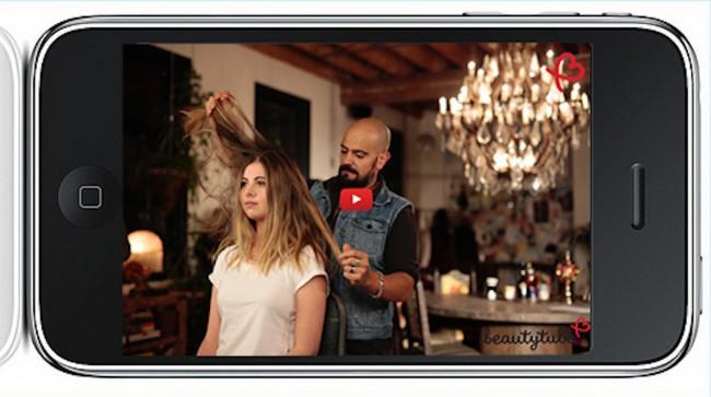 beautytube hair iphone