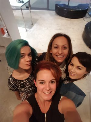 LtoR_MakeOvers_ClockwiseFromGreenHair_JackyQuon_CaroleHaddad_ChloeSchaufler_KellyReeves