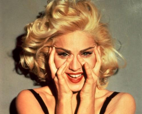 "Madonna publicity still from Truth or Dare, 1991"""