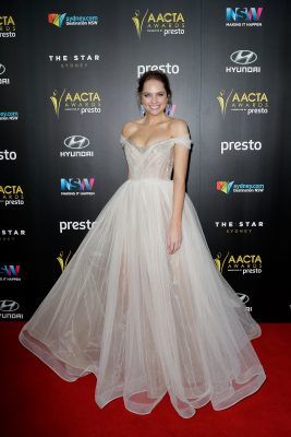 SYDNEY, AUSTRALIA - DECEMBER 09:  Melina Vidler arrives ahead of the 5th AACTA Awards Presented by Presto at The Star on December 9, 2015 in Sydney, Australia.  (Photo by Mark Metcalfe/Getty Images for AFI) *** Local Caption *** Melina Vidler