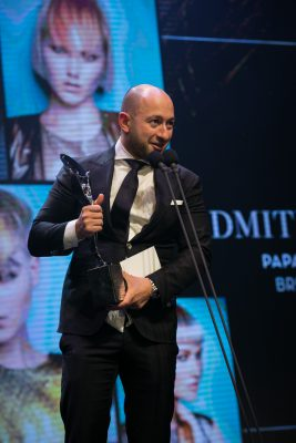 Hairdresser of the Year Dmitri Papas